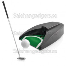 Indoor Golf Set, Boll Retursystem, Zink Alloy Putter