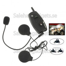 Bluetooth Multi Interphone Hjälm Headset, Motorcykel, Skidåkare, 500m