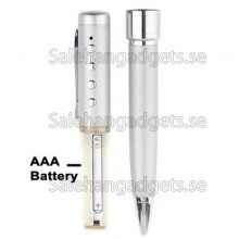 1GB Digital Voice Recorder Pen Med MP3-Funktion