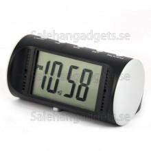 Motion Sensor Digital Väckarklocka Med Kamera