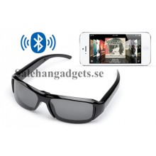 Hands-Free Benledning Bluetooth 3,0 Solglasögon, Splash Proof