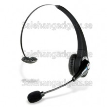 Bekväm Bluetooth Headset Med High Response Boom Mic