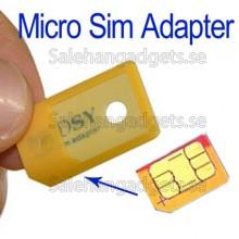 Mobil Simkort Adapter, Micro Simkort Till Vanligt Simkort
