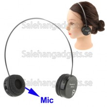 Trådlös Bluetooth Headset Med Mikrofon