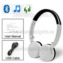 Vikbart Bluetooth Hörlurar Med Mikrofon