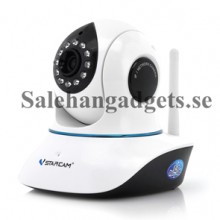 720p IP Kamera, Plug + Play, IR-Cut, 10 Meter Night Vision, Two Way Audio