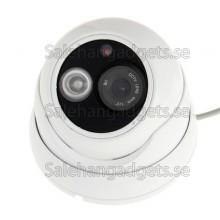 1/3 Tums Sony 800TVL Objektiv IR & Vattentät Videokamera, IR Avstånd: 25m