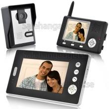 Trådlös Video Porttelefon Med Dubbla Mottagare Och CMOS-Sensor