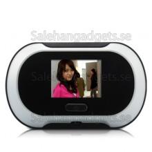 2,5 Tums Digital Peephole Viewer Med TFT LCD-Skärm Och 2,0 MP CMOS-Sensor