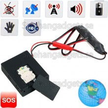 GPS Tracker Med SOS / AGPS / Vibrationssensor/ Voice Sensor