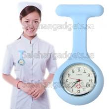Hygienklocka, Silikon Sjuksköterska Klocka Med Pin, 4 Färger