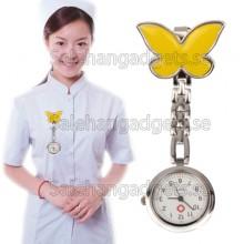Fjäril Style, Hygienklocka, Sjuksköterska Klocka Med Stift