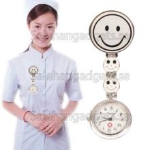 Hygienklocka, Leende Stil Sjuksköterska Klocka Med Pin