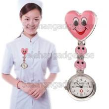Hygienklocka, Rosa Leende Stil Sjuksköterska Klocka Med Pin