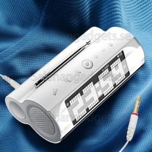 LCD Digital Väckarklocka Med FM-Radio , Touch Key Och Högtalare