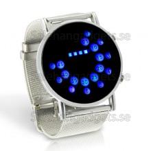 Blå LED, Metall Design, Japansk Stil