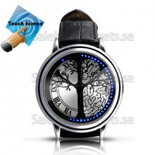 Blue Hybrid - Touchscreen LED Watch