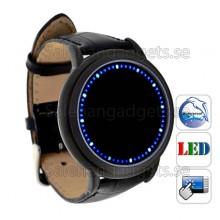 Japansk Stil Blå LED Touchscreen Watch