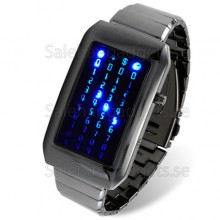 Japanese Style Blå LED Watch