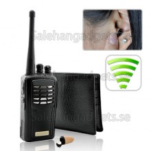 Super Sneak - Wireless Audio Receiver Spy Kit
