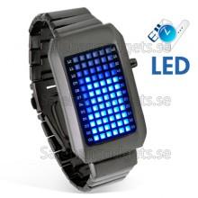 72 Blue LED Watch
