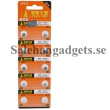 1.55V Alkaline Button Batteri För Klockor(2st)