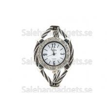 Kvinnors Quartz Armbandsur Med Diamond Dekoration (Svart)