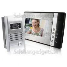 7 Tums TFT LCD Video Porttelefon, Med Infraröd Mörkerseende Funktion