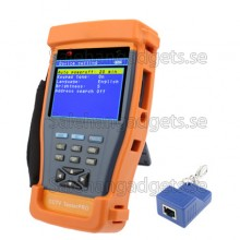 CCTV Security TesterPRO 3,5 Tums TFT LCD-Monitor / PTZ Controller / RS485 Data Capture / UTP Cable Tester