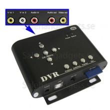 2 Kanaler Mini DVR, Loop Inspelning