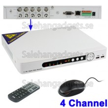 4CH H.264 DVR Network HDD Digital Video Recorder