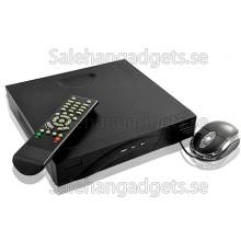 4 Kanals DVR Security System, Kompakt Design, H.264-Komprimering