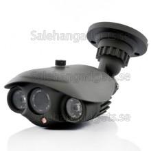 CCTV Säkerhet Kameran - 700TVL, Dual IR, Sony CCD