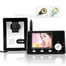 Trådlös Entry Guardian Video Porttelefon (CMOS Sensor) Videotelefon Med Ljud
