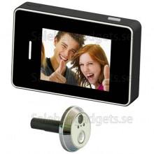 Miniatyr Digital Spionkamera, Titthål Med Touch LCD-Skärm