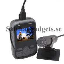 Bil Digital Videokamera Och Sportkamera, 1080p HD