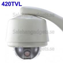 1/4 SONY 420TVL Vattentät, 360 Grader Rotation
