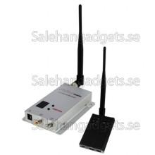 Trådlös AV-Sändare Och Mottagare, 1,2 GHz, 2500mW, 8 Kanaler