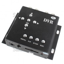 HD Mini DVR, Support SD-Kort
