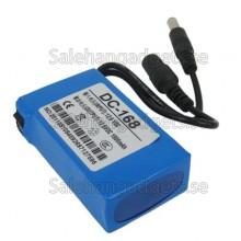 Super Uppladdningsbart Batteripaket DC, Spionkameror Tillbehör