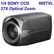 1/4 SONY Färg 480TVL CCD-Kamera, 27X Optisk Zoom