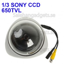 650TVL Färg Dome CCD-Kamera, 1/3 SONY