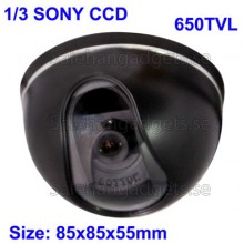 Dome CCD-Kamera 1/3 SONY Färg 650TVL