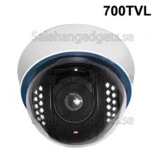 1/3 SONY Färg 700TVL Dome CCD-Kamera