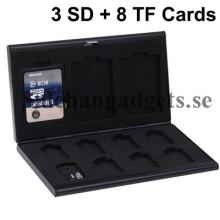 Minneskort Skyddsfodral För TF-Kort / SD-kort