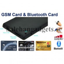 Kreditkort stil GSM induktion, Hörsnäcka, Bluetooth 4.0