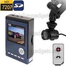 2,5 Tums, 720 Bil DVR -Inspelare, Rörelsedetektering, Night Vision