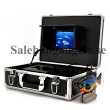 Djupt Vatten Kamera Set, 7 tums LCD-skärm, väska, 600TVL, 20 meter kabel