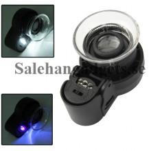 LED Förstoringsglas, Smycken/Frimärke