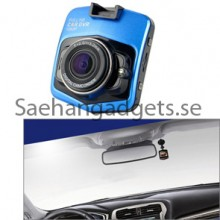 Mini Bil DVR, Full HD 1080p 2,4 tums skärm, 140 Degree vidvinkel, Loop Inspelning, Motion Detection, Parkering Guard